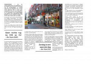 Pseudo-journalist Eddy Erkelens schreef een fictief artikel
